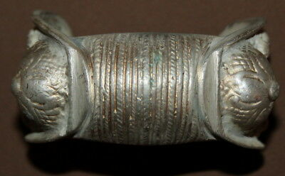 Antique Greek folk silver woman fertility bracelet