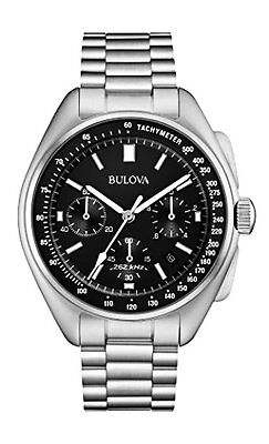 Bulova Corporation 96B258 Mens Special Ed. Moon Watch Stainless Steel