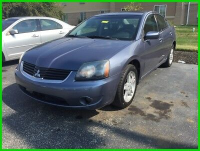 2007 Mitsubishi Galant ES Used 07 Mitsubishi Galant ES 2.4 I4 Auto FWD Sedan Blue Black Leather