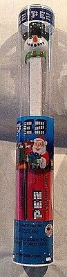 Pez Snowman With Hat 2011 In Tube Free Shipping Collectible Pez With Feet
