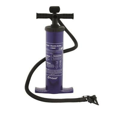 Outwell Double Action Hand Pump For Airbeds, Tents, Awnings & Inflatables