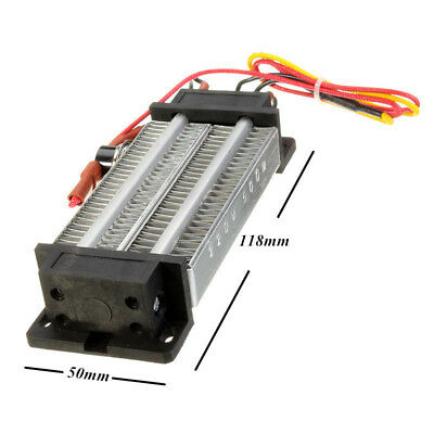 [NEW] 300W 220V PTC Ceramic Air Heating Element Electric Heater Fever Tablets DC