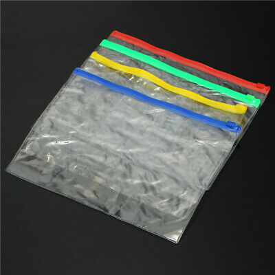 [NEW] 320x238mm PVC Transparent File Holder Packing Bags