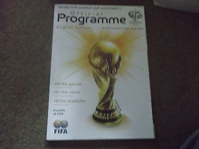 2006 World Cup Germany Official Programme English Edition