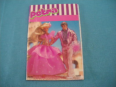 406A Catalogue Fold PETRA 1980 Germany 16 pages Doll Model