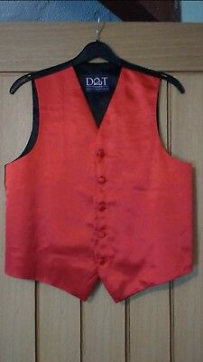 Red Showing Waistcoat size 10
