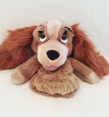 Walt Disney New Lady and the Tramp Hand Puppet  Soft Plush Toys