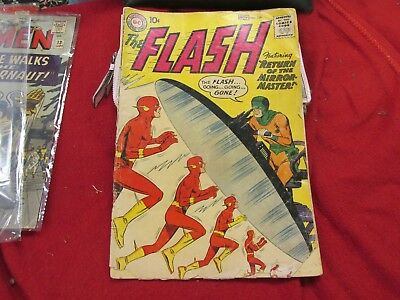 The Flash #109 1959 Return of the Mirror-Master