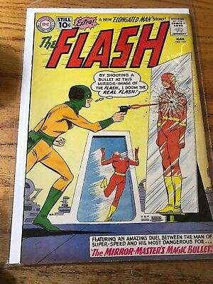 SILVER-AGE COMICS BLOWOUT: THE FLASH March 1961 #119 LOOK FB