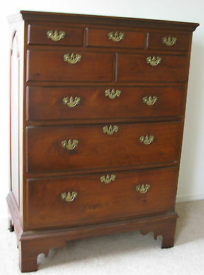 Pennsylvania Walnut Tall Chest Of Drawers