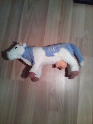 Largest STEIFF stuffed Milka Cow - Limited Edition - Rare Collectors Item