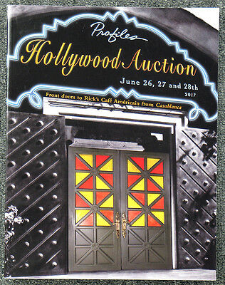 Profiles In History 2017 Hollywood Auction 89 Catalog Casablanca Cover