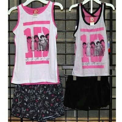 One Direction Girls sizes 4-14 polyester knit pajama 24pcs [21ODSSPJ]