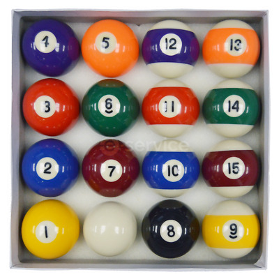 "SET of 2"" SPOTS AND STRIPES QUALITY Competition / Match BALLS FOR POOL TABLES"
