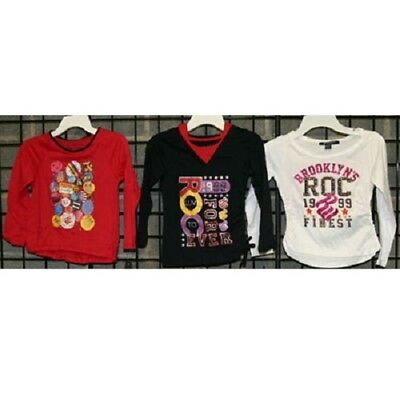 Rocawear 4-6x long sleeve knit top 24pcs. [G46RWT]