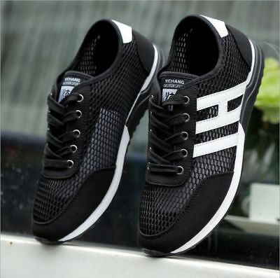 Men's Fashion Casual Sneakers shoes Athletic Breathable Running sport shoes 4