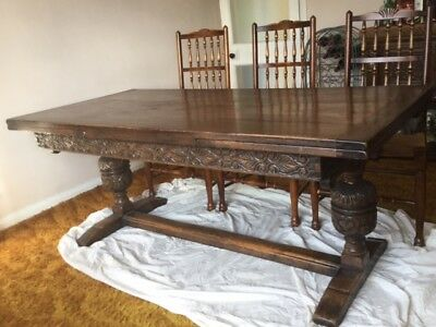 Dining Table in Oak (Somerset / Devon)