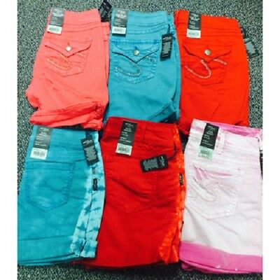 Silver Jeans Co. Junior's Shorts/Bermuda shorts assortment 24pcs [silvershorts]