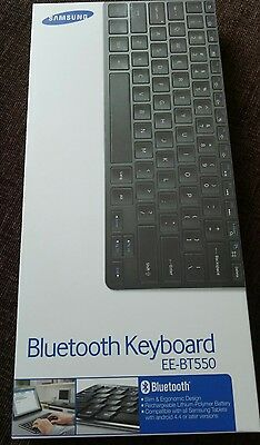 Samsung Ee-Bt550 - Keyboard - Bluetooth - Android 4.4 Or Upwards, Ee-Bt550Bbeggb