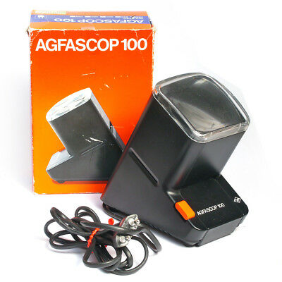 Agfascop 100 Diabetrachter * Agfa slide viewer