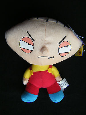 "Family Guy Stewie NANCO 2005 Stuffed Plush Toy 9"" NWT - FREE SHIP USA & CANADA"