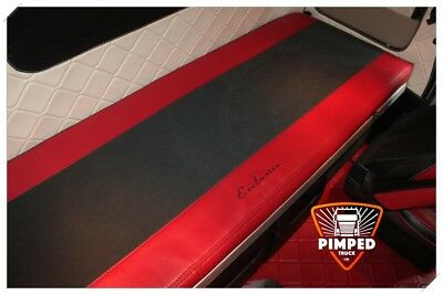 Bed Cover Mercedes Actros MP4 ECO LEATHER Red mattress cover