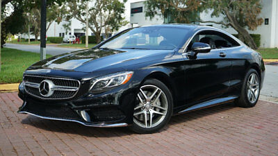 """2015 Mercedes-Benz S-Class S550 COUPE AMG SPORT 19"""" AMG WHEELS DISCTRONIC!! 1-OWNER CLEAN CARFAX LOADED WITH OPTIONS VERY LOW RESERVE SUPER CLEAN CAR!!!!!!!"""