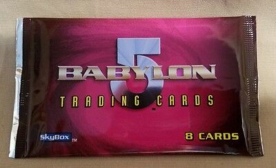 1996 Babylon 5 Coming of the Shadows Trading Card by Skybox random pick of 1