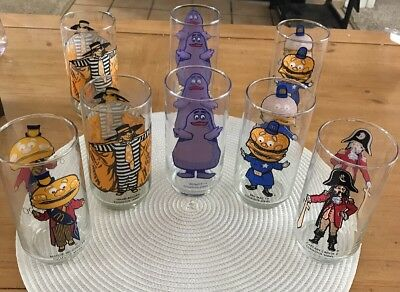 McDonald's Collectable Glasses