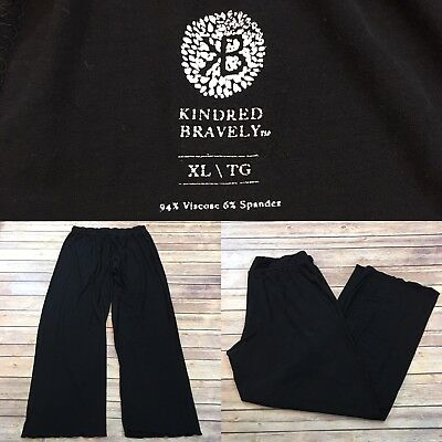 Kindred Bravely Size XL X-Large Maternity Straight Leg Pajama Pants Loose F4/50