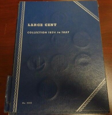 Collection of 1826 - 1857 Large Cent Collection Book