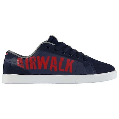 Airwalk Beacon Mens  Skate Shoes Trainers Sneaker Casual New Navy Red Uk 7