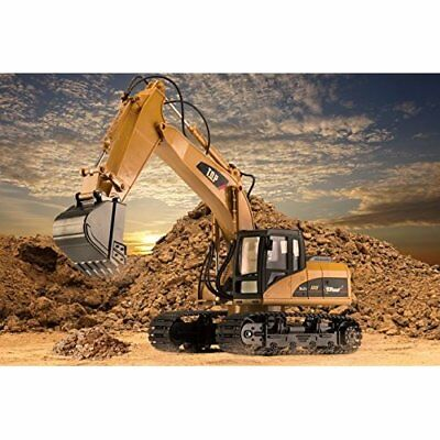 RC Kids Toys Excavator Heavy Duty Metal Series Construction Tractor 2.4Ghz NEW
