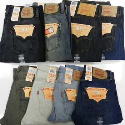 Levis Men's IRR 501 Denim Jeans assorted 24pcs. [Levis501IRR]