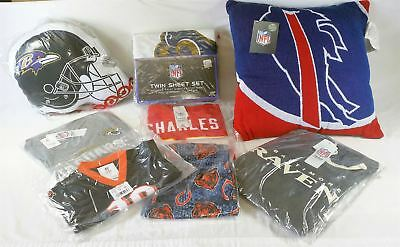 Wholesale Lot of NFL Sport Fan Gear Apparel Home Items Overstock Manifested