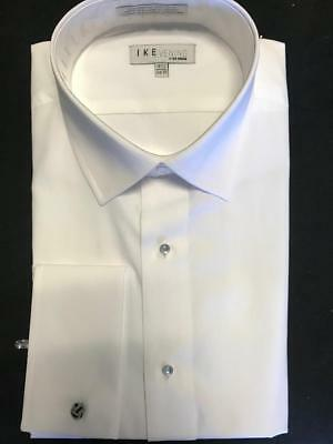 Ike Behar 100% Woven Cotton French Cuff Shirt (choose size)