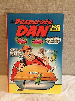 The Desperate Dan Book 1992 Annual