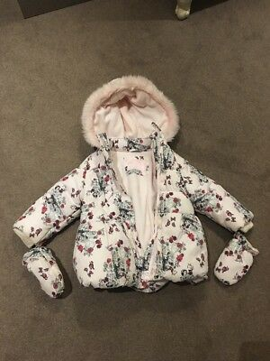 girls Disney coat 12-18 months