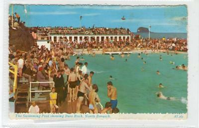 THE SWIMMING POOL, NORTH BERWICK: East Lothian postcard (C29888)