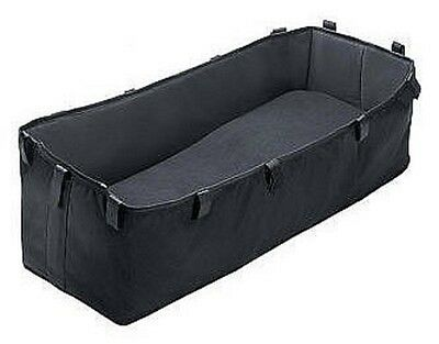 Bugaboo Bassinet Fabric Replacement Grey/ Black For newborn Infant Sleeping EUC