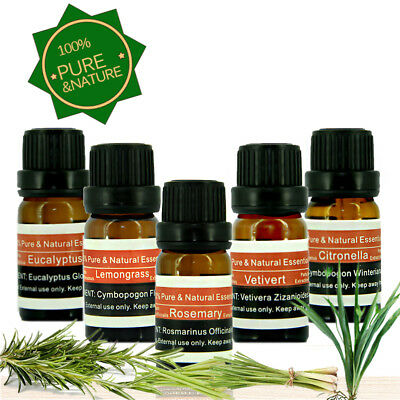 100% Pure & Natural Therapeutic Grade Essential Oil - 5/10 ml (Free Shipping) L9