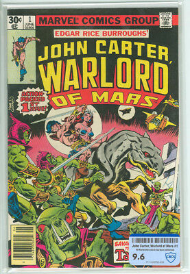John Carter Warlord of Mars #1 CBCS Raw 9.6 Marvel