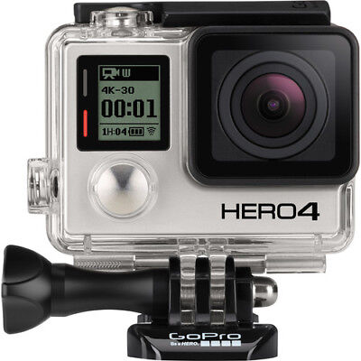 GoPro HERO4 4K Ultra HD Waterproof Camera. Black Edition!