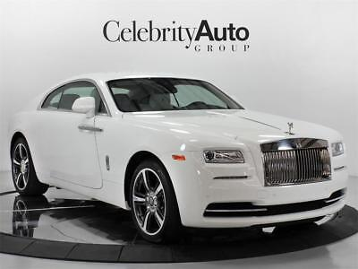 2016 Rolls-Royce Other Wraith White/White Starlight 2016 ROLLS ROYCE WRAITH STARLIGHT