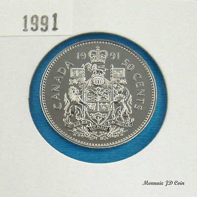 1991  Canada 50 Cent Specimen From Set