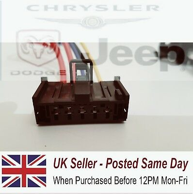 For Vauxhall Corsa D  2006 On Heater Resister Wiring Loom Repair Plug Resistor