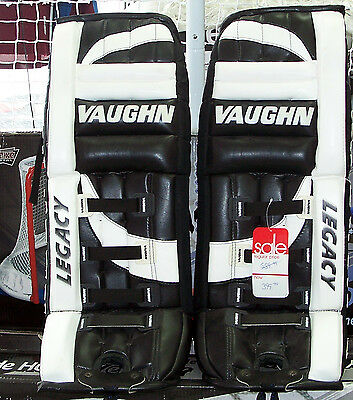 Vaughn Legacy VPG 4040 Intermediate Goalie Pads - MADE in CANADA!