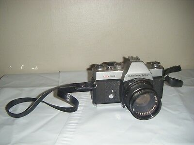 Mamiya / Sekor DSX 1000 Film Camera Japan 77350 Lumux 55mm G163267 Sold As Is