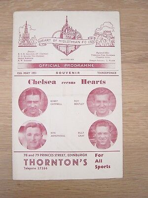 1951 Friendly : Hearts V Chelsea