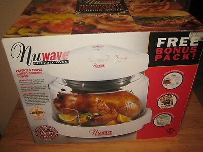 NuWave Pro Infrared Countertop Oven Never Used NIB Cooking System Complete White